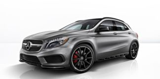 Mercedes-Benz официально представил кроссовер GLA 45 AMG