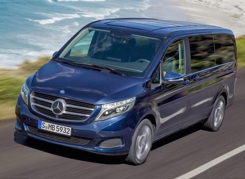 Mercedes-Benz представил новый минивэн V-Class 1