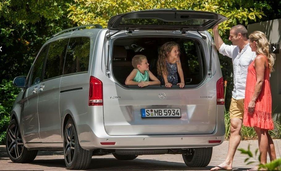 Mercedes-Benz представил новый минивэн V-Class 2