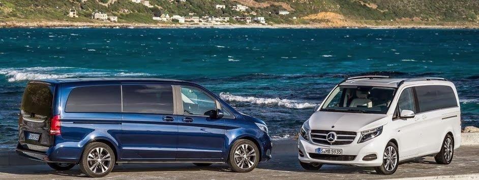 Mercedes-Benz представил новый минивэн V-Class 3
