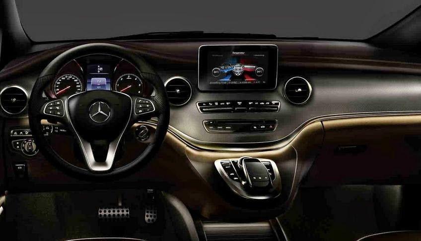 Mercedes-Benz представил новый минивэн V-Class 4