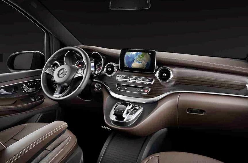 Mercedes-Benz представил новый минивэн V-Class 5