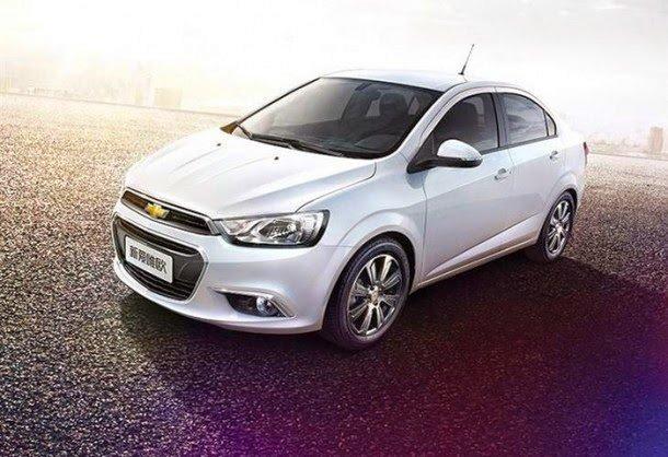 Chevrolet Aveo 2014 совсем скоро выйдет на рынок Китая