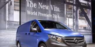 Mercedes-Benz показал Vito нового поколения