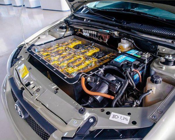 Специалисты «НАМИ» модернизировали электромобиль Lada Ellada 4