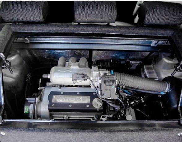 Специалисты «НАМИ» модернизировали электромобиль Lada Ellada 3