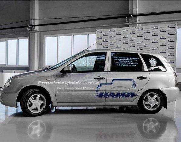 Специалисты «НАМИ» модернизировали электромобиль Lada Ellada 2