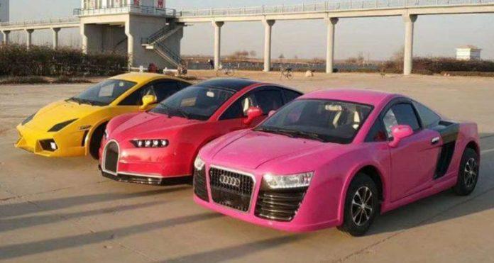 Китайский Bugatti Chiron будет продаваться за 5 тысяч долларов