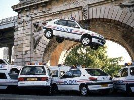 Автомобили французской полиции
