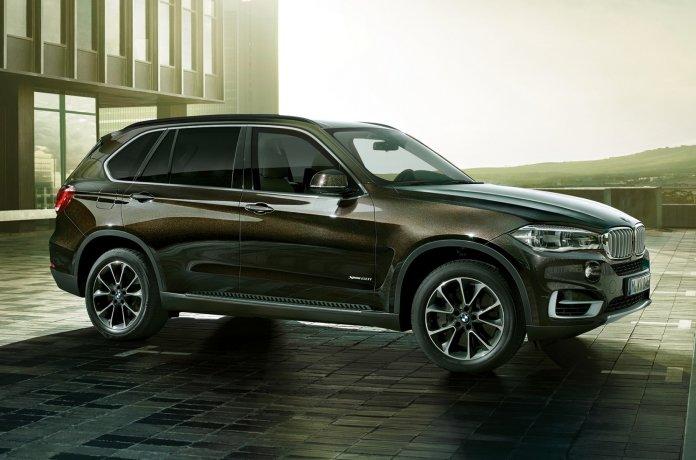 BMW будет поставлять в Россию бронированный X5