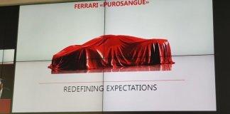 Стало известно название кроссовера Ferrari