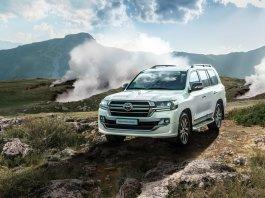 В Россию приехал новый топовый Toyota Land Cruiser 200