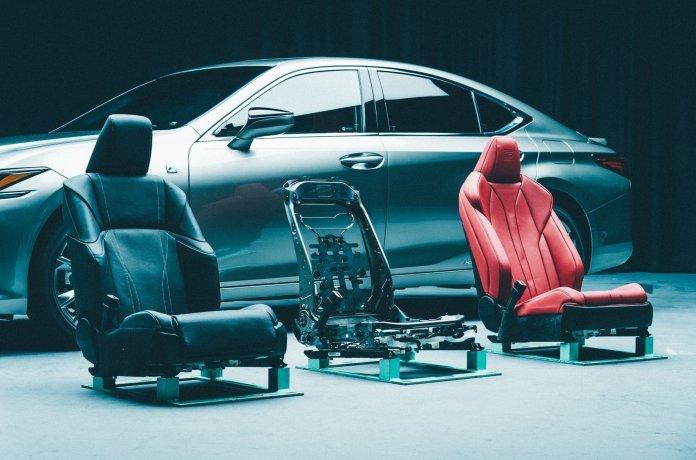 Кресла для нового Lexus ES разрабатывали три года