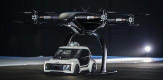 Audi и Airbus испытали первое летающее такси. Крошечное
