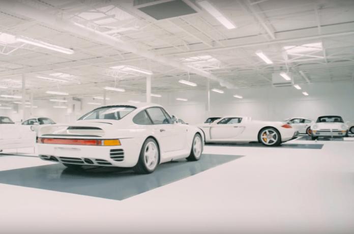 Видео: самая секретная коллекция Porsche в мире