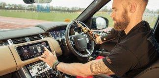 Jaguar Land Rover разработал автоматически открывающиеся двери