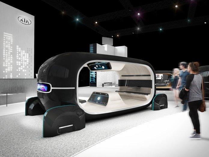Kia расскажет об «эмоциональной коммуникации» между водителем и машиной
