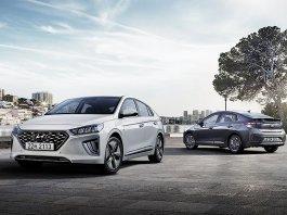 Компания Hyundai улучшила гибрид Ioniq
