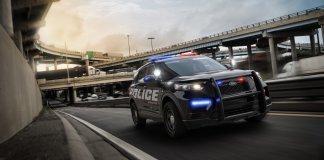 Представлен полицейский Ford Explorer нового поколения