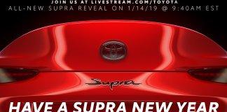 Toyota опубликовала «последний» тизер новой Supra