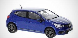 Внешность обновленного Renault Clio показали на масштабной модельке