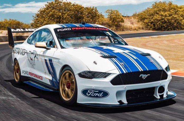 Ford представил 645-сильный Mustang для австралийской гоночной серии Supercars