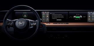 Honda показала дизайн интерьера нового электрокара