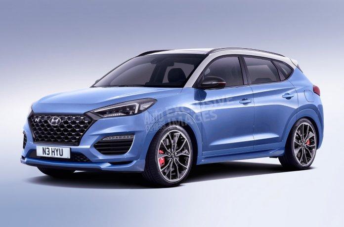 «Заряженный» Hyundai Tucson N составит конкуренцию Audi SQ5
