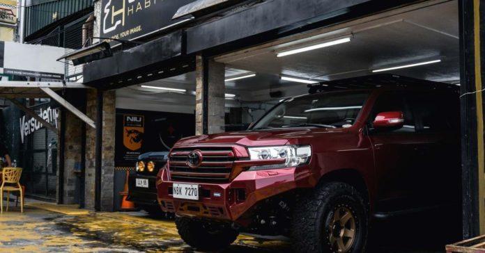 Toyota Land Cruiser приспособили для езды в экстремальных условиях