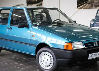 На продажу выставили 24-летний Fiat Uno почти без пробега