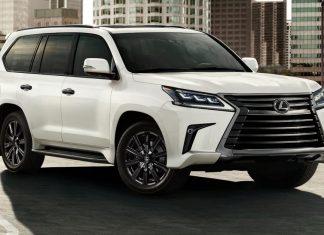 Lexus выпустит 500 особых внедорожников LX