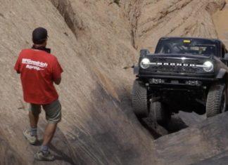 Видео: новый Ford Bronco проехал по самому опасному горному маршруту в США