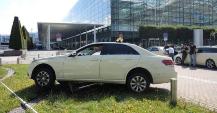 Американец не смог угнать Mercedes-Benz из-за «автомата»