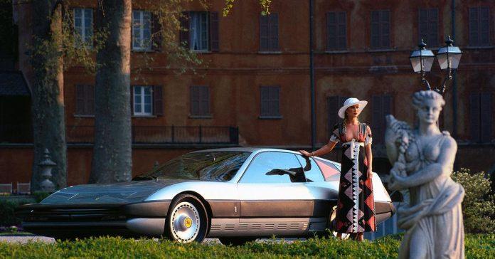 Забытые концепты: Ferrari Cr 25