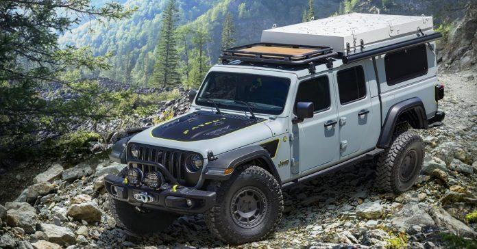 Jeep превратил пикап Gladiator в кемпер