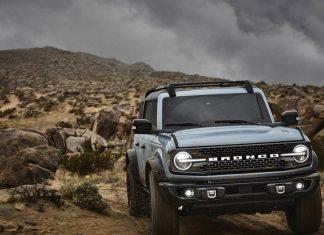 Мощность гибридного Ford Bronco превысит 450 лошадиных сил