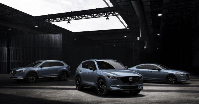 Mazda представила «карбоновые» версии нескольких моделей