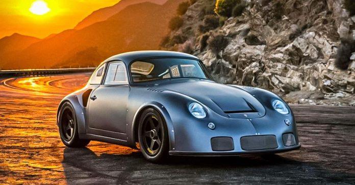 На продажу выставили экстремальный хот-род, собранный из двух Porsche