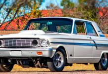 Супер-Ford из шестидесятых по имени «удар молнии»