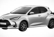 Новый Toyota Yaris запатентовали в России