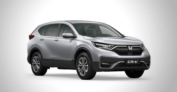 Honda представила обновленный кроссовер CR-V для России