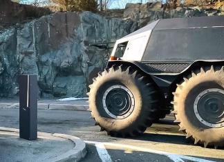 Российский вездеход «Шерп» испытали в городских условиях США