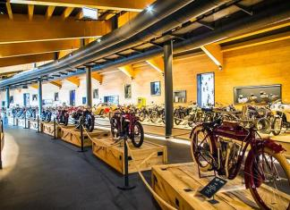В Австрии сгорел музей с 230 классическими мотоциклами