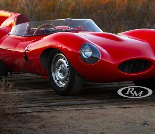 Редчайший 66-летний Jaguar D-Type пустят с молотка за 550 миллионов рублей