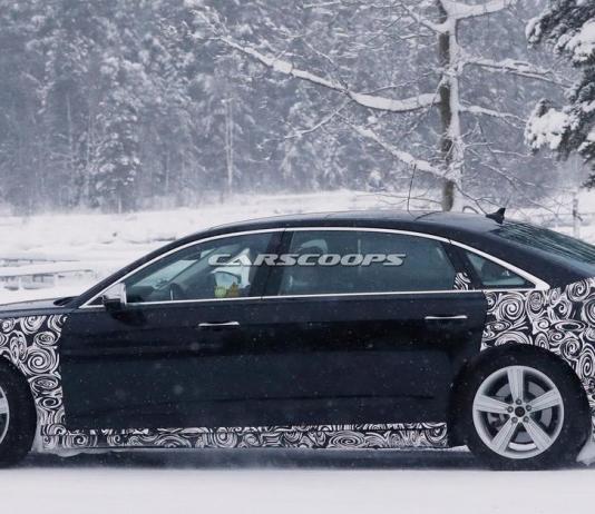 Опубликованы первые снимки лимузина Audi-Horch
