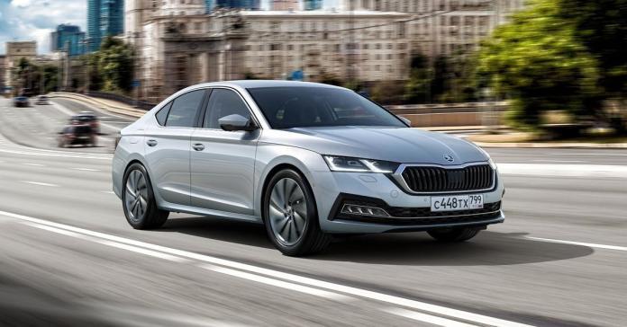 Российская Skoda Octavia обзавелась новыми моторами