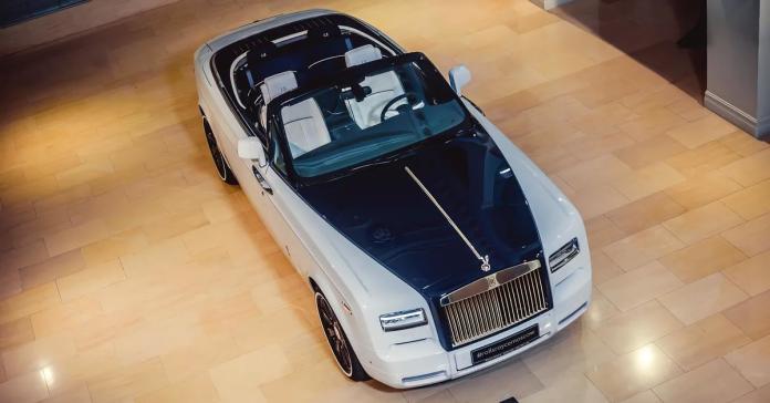 В Москве продают очень редкий Rolls-Royce Phantom за 92 миллиона рублей
