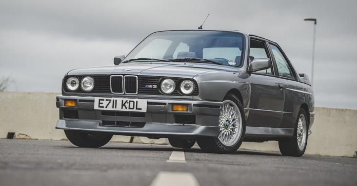 Редчайшую спецверсию 32-летнего BMW M3 оценивают на торгах в 5,8 миллиона рублей