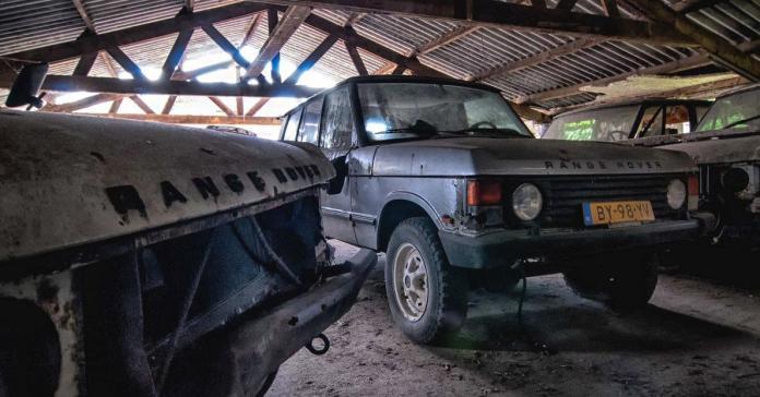 Посмотрите на «кладбище» заброшенных Range Rover
