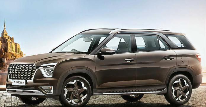 Hyundai представила семиместный кроссовер Alcazar